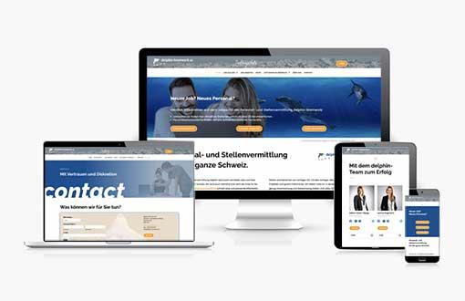 Website erstellen lassen mit Konzept und Idee